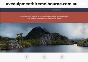 avequipmenthiremelbourne