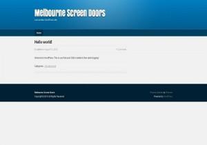melbournescreendoors