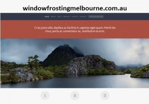 windowfrostingmelbourne