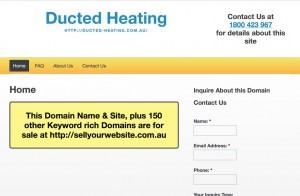 Ducted Heating