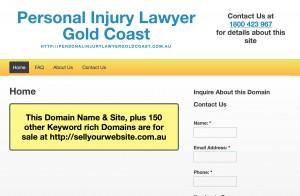 Personal Injury Laywer Gold Coast