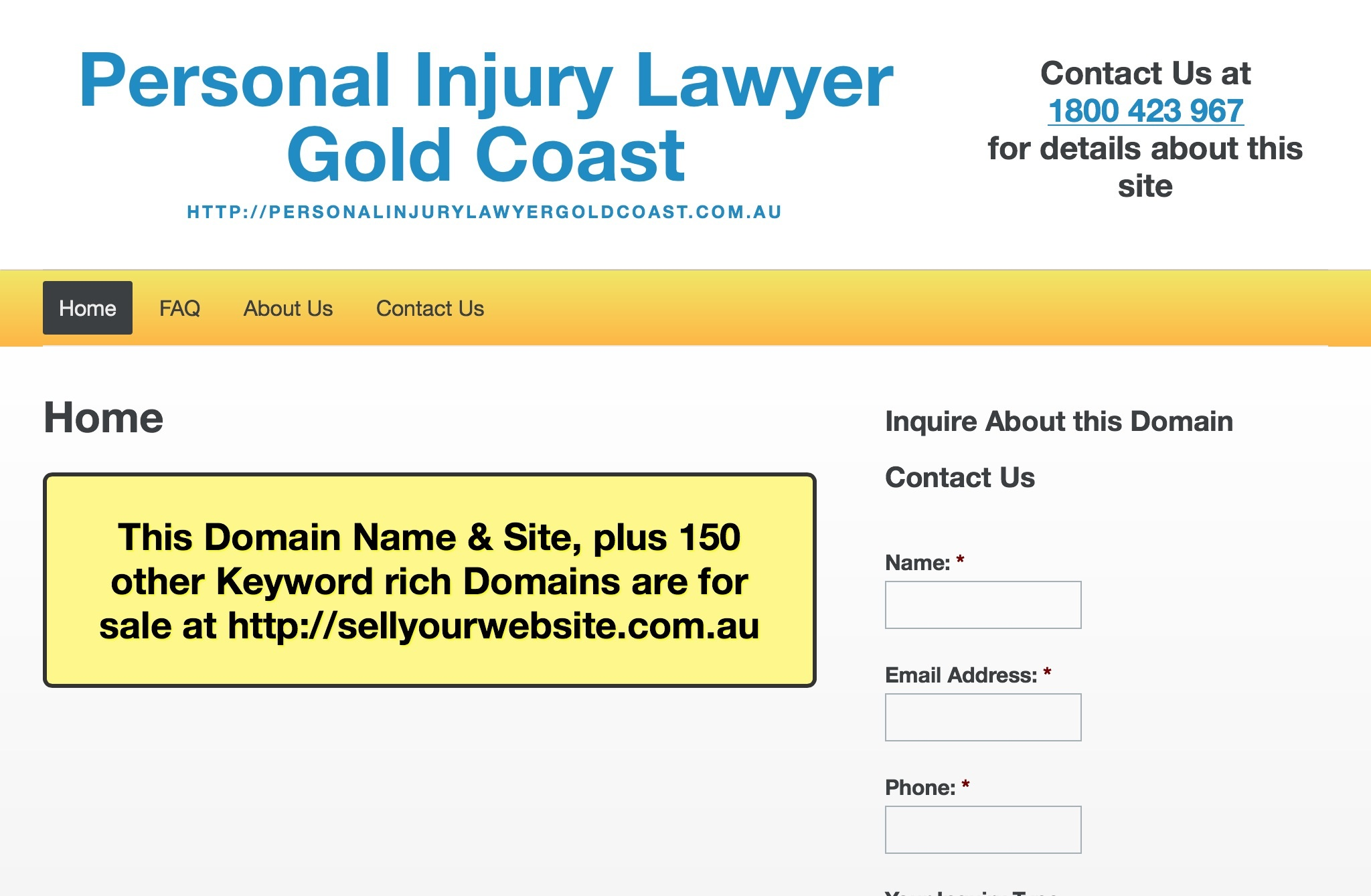 Personal Injury Laywer Gold Coast