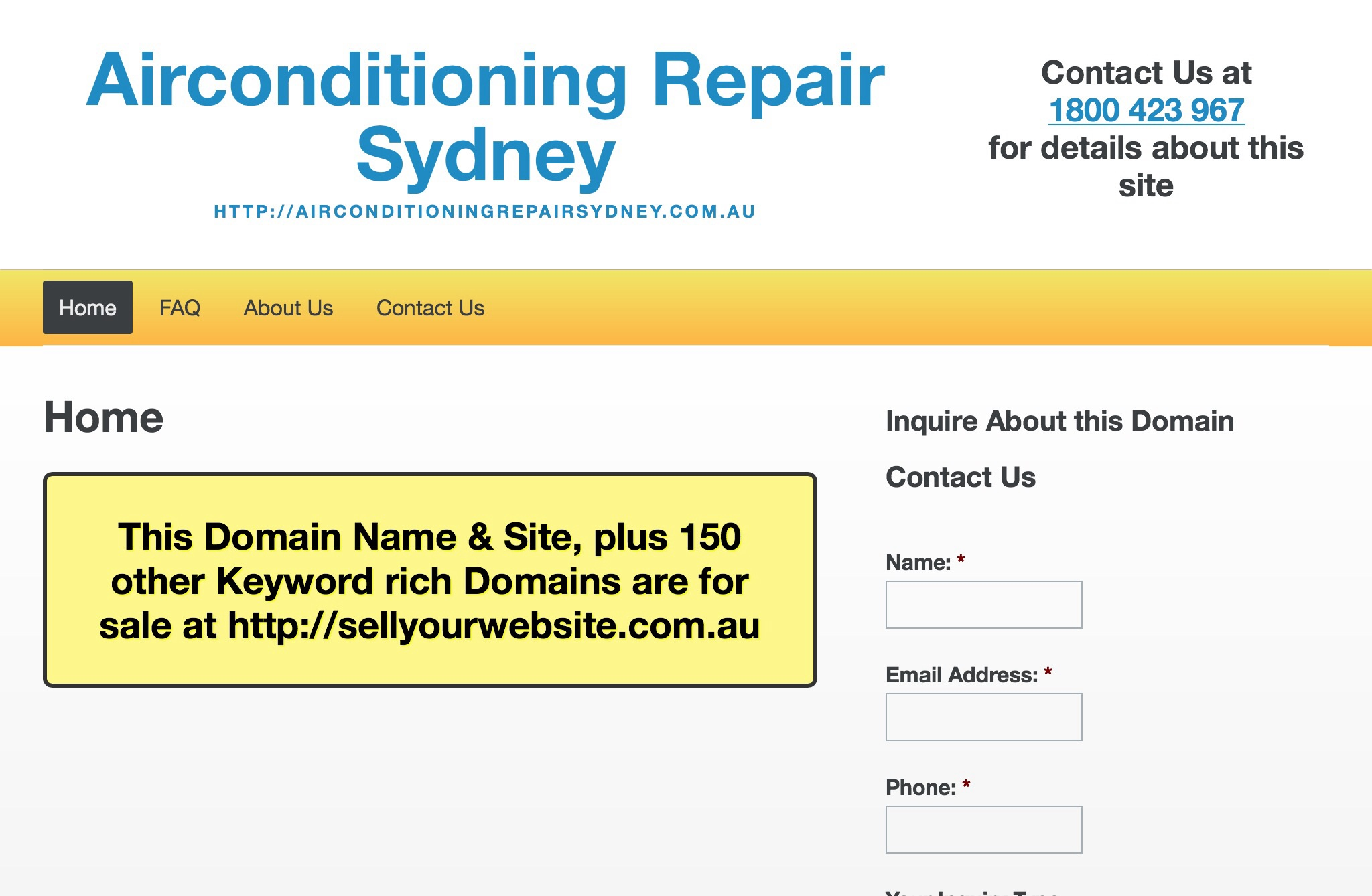 Airconditioning Repair Sydney