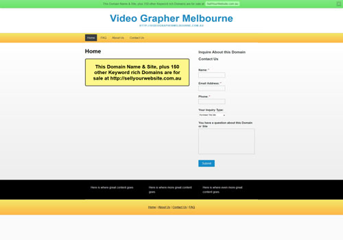 Video Grapher Melbourne