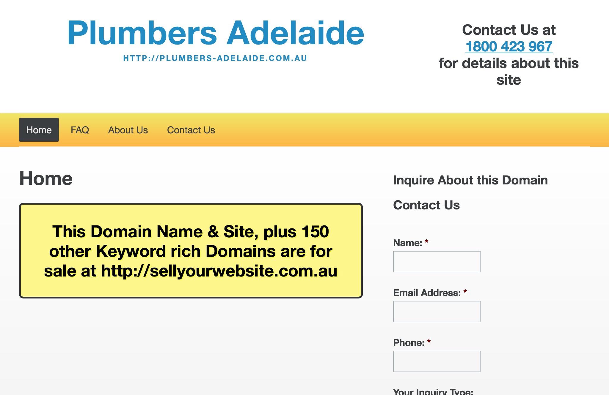 Plumbers Adelaide