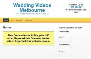 Wedding Videos Melbourne