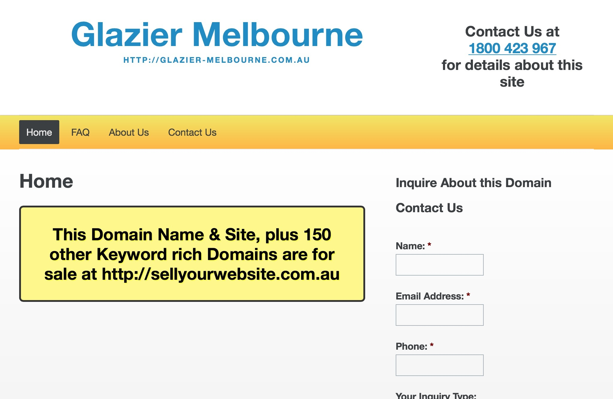 Glazier Melbourne
