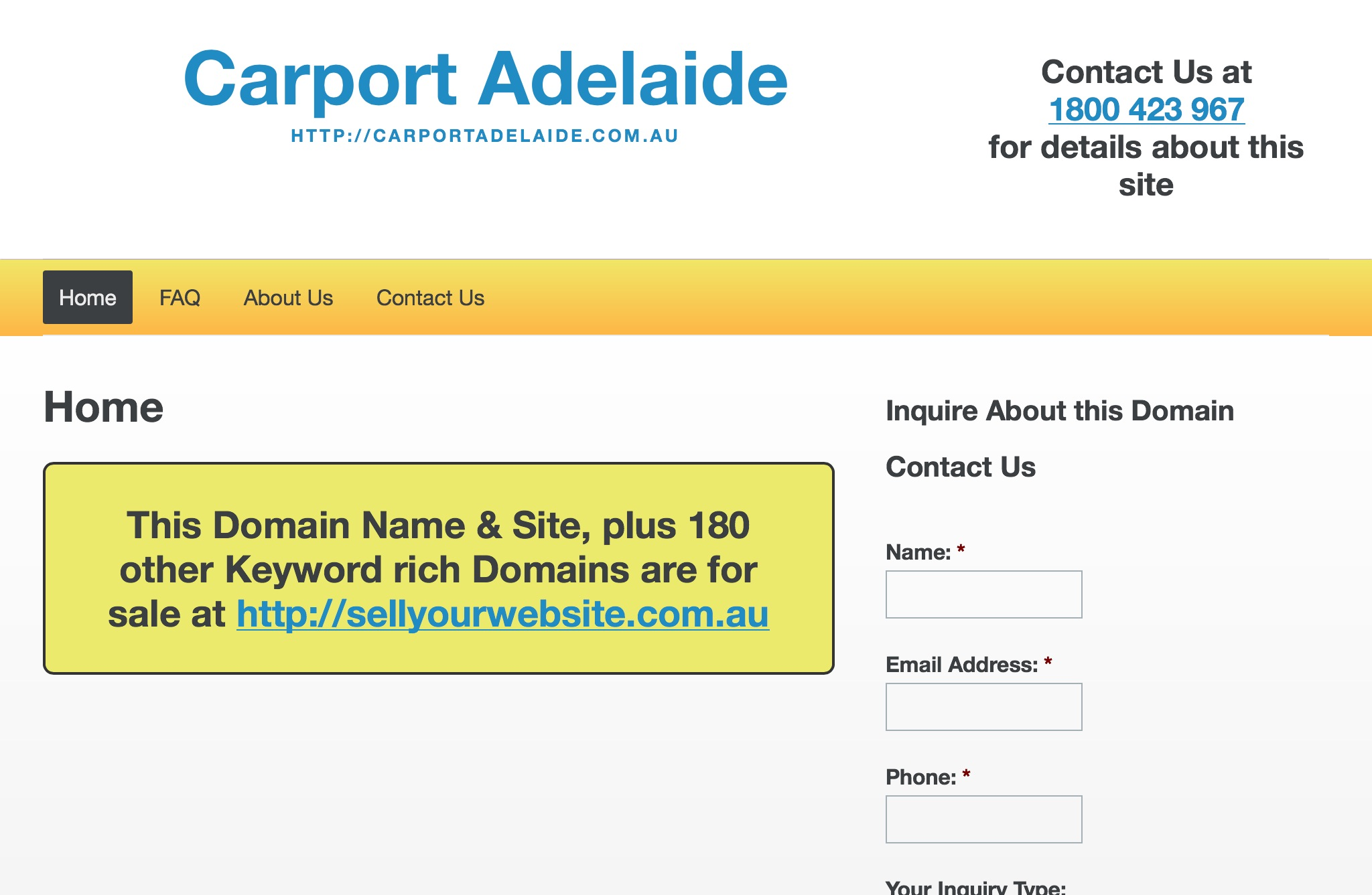 Carport Adelaide