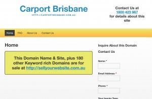Carport Brisbane