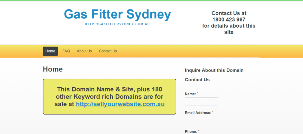 Gas Fitter Sydney
