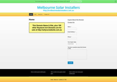 Melbourne Solar Installers