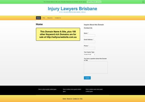 injurylawyersbrisbane.com.au
