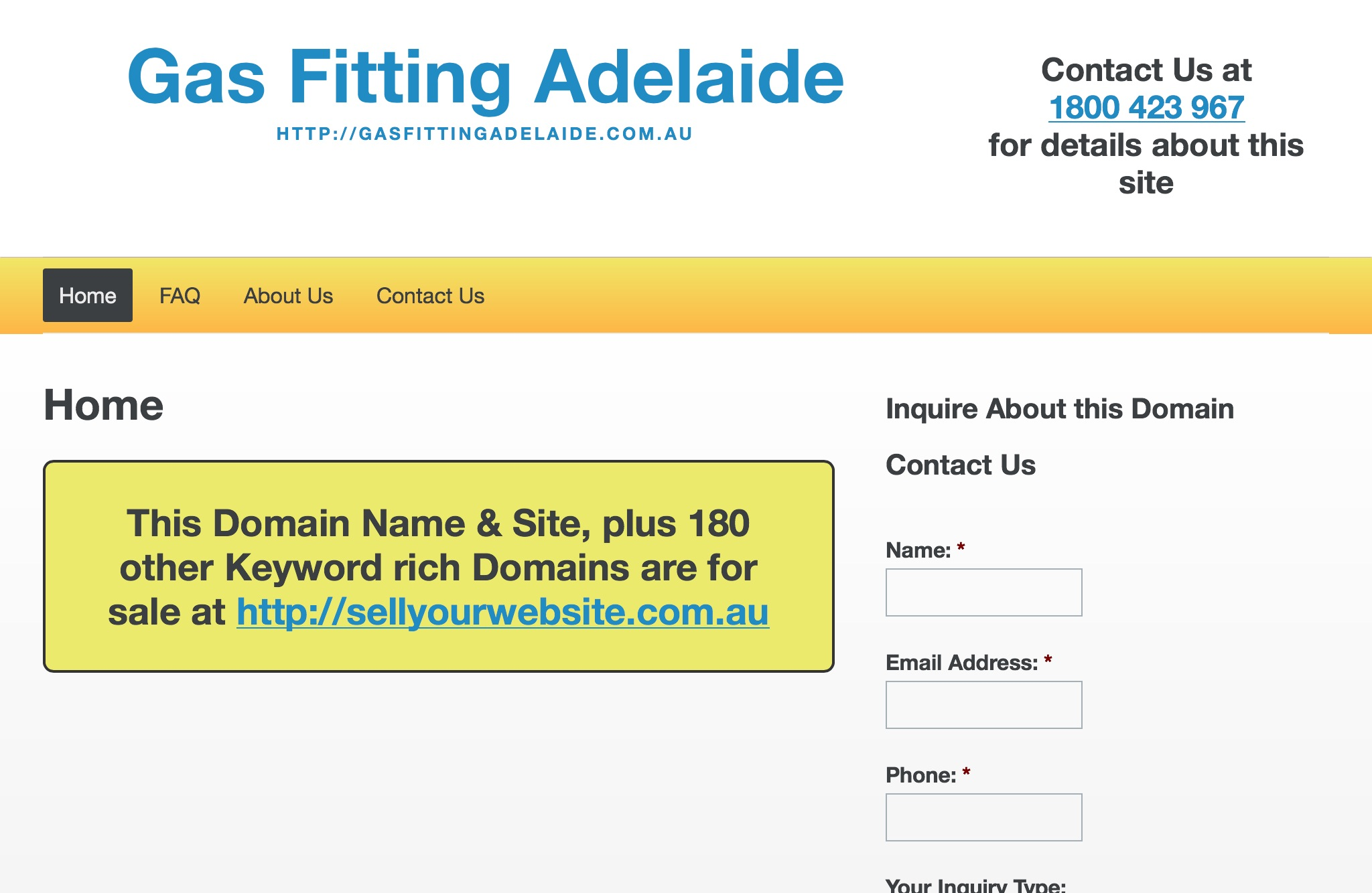 Gas Fitting Adelaide
