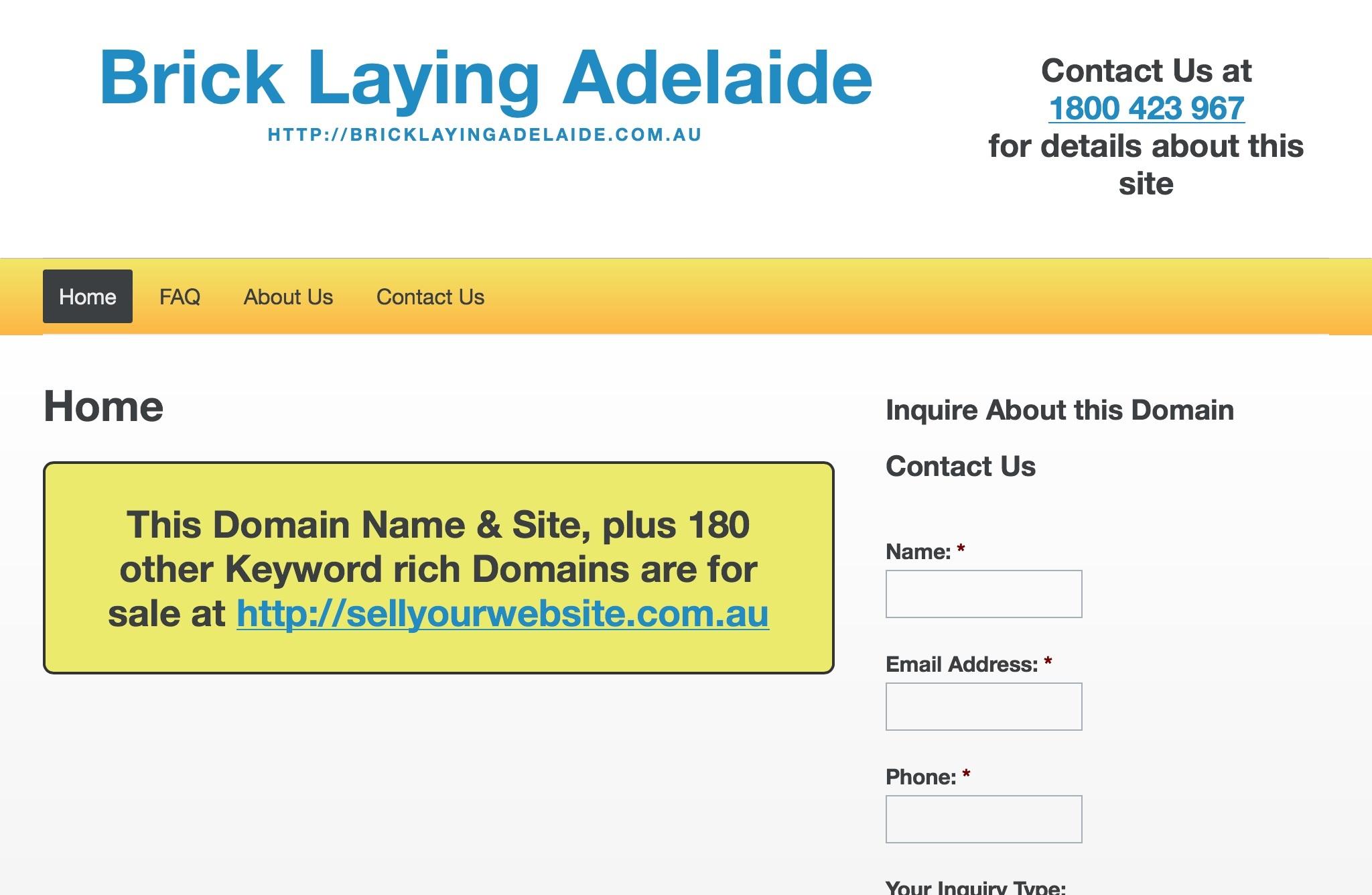 Brick Laying Adelaide